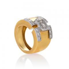 David Webb David Webb Mid 20th Century Diamond Gold and Platinum Ring - 267448