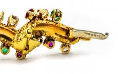 David Webb David Webb Multicolor Sapphire Emerald Diamonds Bracelet - 1674160