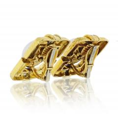 David Webb David Webb Strap Black Enamel Diamond Earrings - 1672021