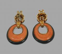 David Webb David Webb drop earrings - 1195394