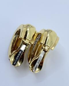 David Webb David Webb gold Diamond Earrings - 1933092