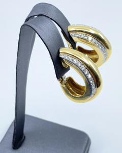 David Webb David Webb gold Diamond Earrings - 1933093