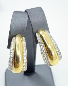 David Webb David Webb gold Diamond Earrings - 1933094