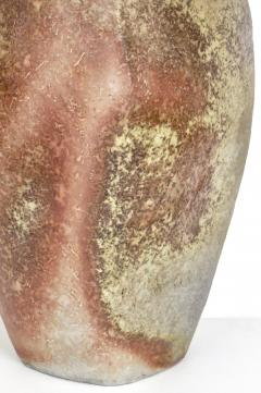 David Whitehead David Whitehead Ceramic Artist Wood Fired Ceramic Vase La Borne France - 1064117