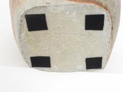 David Whitehead David Whitehead Ceramic Artist Wood Fired Ceramic Vase La Borne France - 1064120