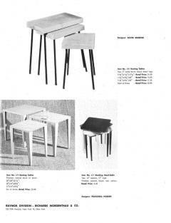 David Wurster David Wurster Nest of Tables for Raymor - 797785