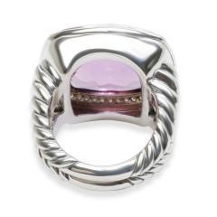David Yurman David Yurman Albion Amethyst Diamond Ring in Sterling Silver - 1284040