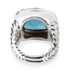 David Yurman David Yurman Blue Topaz Albion Ring in Sterling Silver - 1282552
