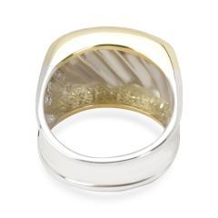 David Yurman David Yurman Cigar Band in 14K Yellow Gold Sterling Silver - 1282656