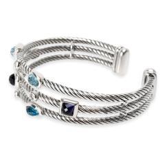David Yurman David Yurman Confetti Diamond Cuff in Sterling Silver 0 12 CTW - 1283193