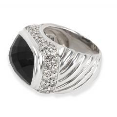 David Yurman David Yurman Diamond Fashion Ring in Sterling Silver 1 35 CTW - 1286426