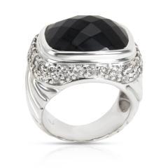 David Yurman David Yurman Diamond Fashion Ring in Sterling Silver 1 35 CTW - 1286427