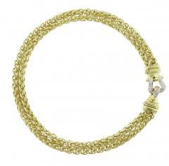 David Yurman David Yurman Gold and Diamond Necklace - 420046