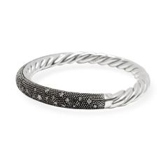 David Yurman David Yurman Midnight Melange Diamond in Sterling Silver 0 54 CTW - 1284469
