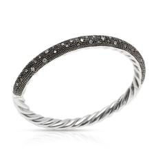 David Yurman David Yurman Midnight Melange Diamond in Sterling Silver 0 54 CTW - 1284476