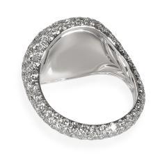 David Yurman David Yurman Pave Diamond Pinky Ring in 18K White Gold 2 65 CTW - 1842039