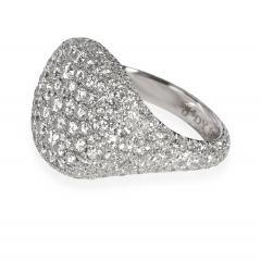 David Yurman David Yurman Pave Diamond Pinky Ring in 18K White Gold 2 65 CTW - 1842041