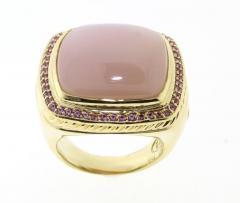 David Yurman David Yurman Pink Sapphire and Moonstone Ring - 448233