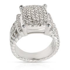 David Yurman David Yurman Wheaton Collection Diamond Ring in Sterling Silver 1 12 CTW - 1284624