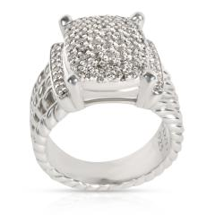 David Yurman David Yurman Wheaton Collection Diamond Ring in Sterling Silver 1 12 CTW - 1285916