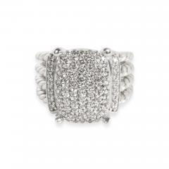 David Yurman David Yurman Wheaton Collection Diamond Ring in Sterling Silver 1 12 CTW - 1309335