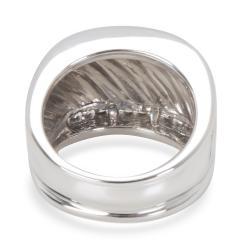 David Yurman David Yurman Wide Cable Diamond Mens Band in Sterling Silver 0 25 CTW  - 1283871
