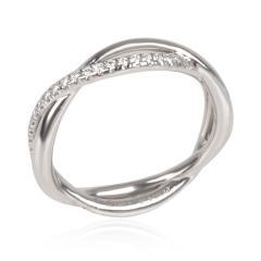 David Yurman Lanai Collection Diamond Wedding Band in Platinum 0 19 CTW - 1364551