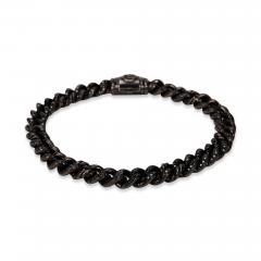 David Yurman Petite Pave Curb Link Men s Bracelet - 1365747