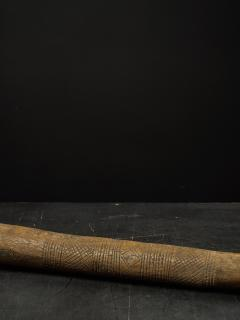 Decorated Heavy Old Wood Pestle - 1915021