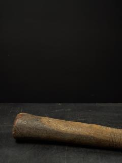 Decorated Heavy Old Wood Pestle - 1915022