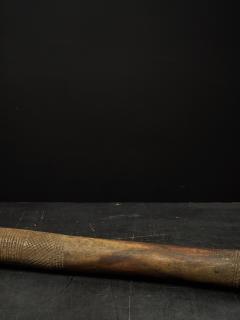 Decorated Heavy Old Wood Pestle - 1915023