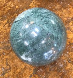 Decorative Green Marble Sphere Italy - 1027131