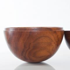 Decorative Modern Bowling Ball Secret Catch it All in Walnut Wood - 1446937