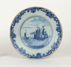 Delft Plate Commerating the Battle of Dogger Bank c 1781 - 1184133