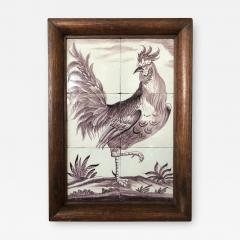 Delft Tile Picture of Rooster - 1518175