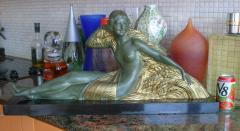 Demetre Haralamb Chiparus Wheat Art Deco Nude - 1162893