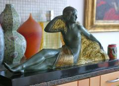 Demetre Haralamb Chiparus Wheat Art Deco Nude - 1162896