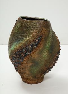 Dena Zemsky Hand Built Ceramic Vase by Dena Zemsky - 718048
