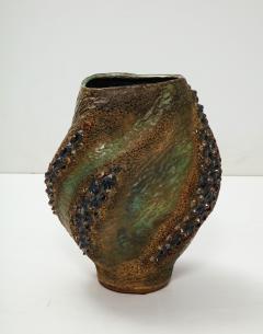 Dena Zemsky Hand Built Ceramic Vase by Dena Zemsky - 718050