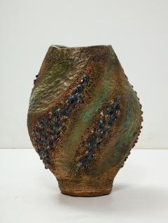 Dena Zemsky Hand Built Ceramic Vase by Dena Zemsky - 718053