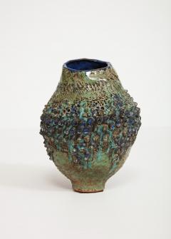 Dena Zemsky Studio Made Bulbous Form Vase by Dena Zemsky - 1008079