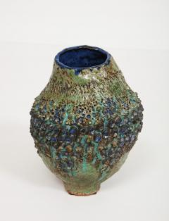 Dena Zemsky Studio Made Bulbous Form Vase by Dena Zemsky - 1008085