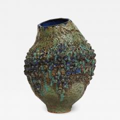 Dena Zemsky Studio Made Bulbous Form Vase by Dena Zemsky - 1035472