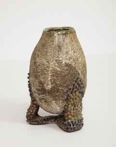 Dena Zemsky Studio Made Sculptural Vase with Base by Dena Zemsky - 1008264