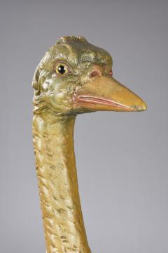 Dentzel Carved Ostrich Carousel Animal - 1790532