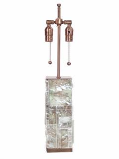Designer Table Lamp Bronze and Gypsum - 1547954