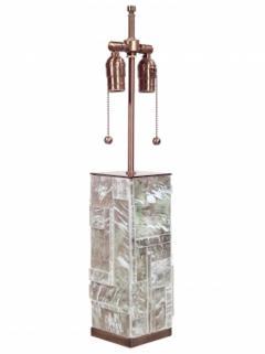 Designer Table Lamp Bronze and Gypsum - 1547955