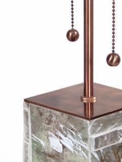 Designer Table Lamp Bronze and Gypsum - 1547963