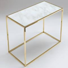 Desigual Brass and Marble Table - 972271