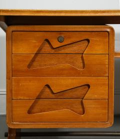 Desk in the Manner of Gio Ponti Italy c 1950s - 1958758